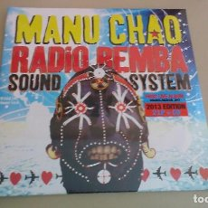 Discos de vinilo: 2LP+CD MANU CHAO RADIO BEMBA SOUNDSYSTEM VINILO LATIN FOLK SKA PACHANGA. Lote 133451846