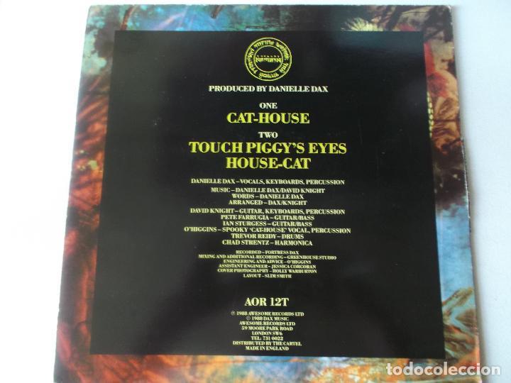 Discos de vinilo: DANIELLE DAX. CAT- HOUSE. AWESOME RECORDS, 1988. UK - Foto 2 - 133451926