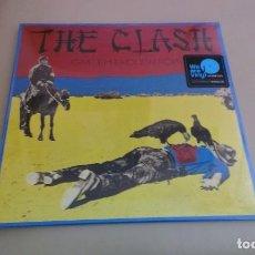 Discos de vinilo: LP THE CLASH GIVE 'EM ENOUGH ROPE VINILO REEDICION PUNK. Lote 133454110