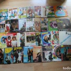Discos de vinilo: LOTE 33 SINGLES Y EP'S LOS MISMOS. Lote 133455474