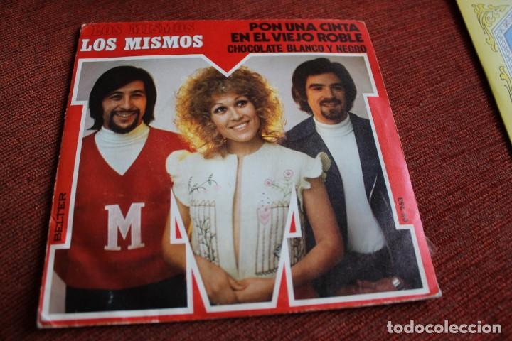 Discos de vinilo: LOTE 33 SINGLES Y EPS LOS MISMOS - Foto 3 - 133455474