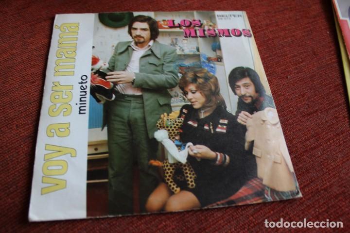 Discos de vinilo: LOTE 33 SINGLES Y EPS LOS MISMOS - Foto 4 - 133455474