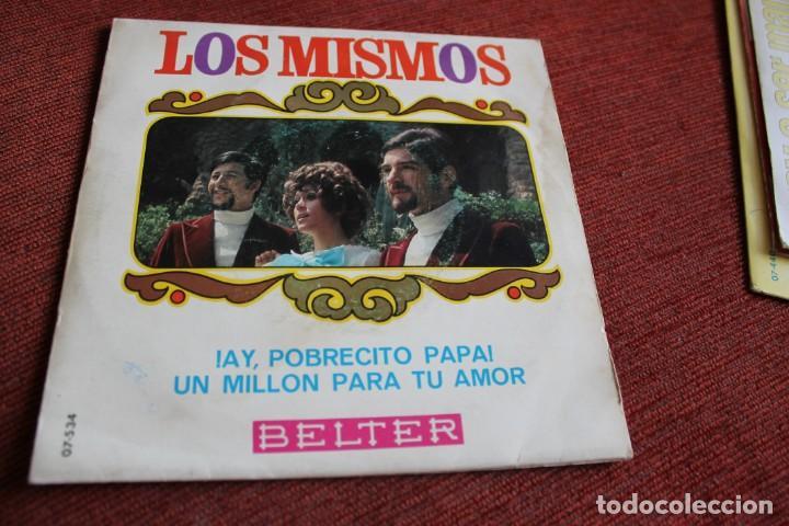 Discos de vinilo: LOTE 33 SINGLES Y EPS LOS MISMOS - Foto 5 - 133455474