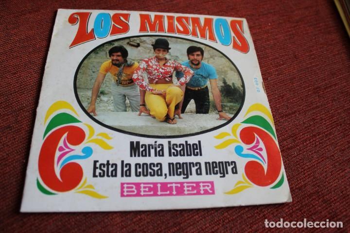 Discos de vinilo: LOTE 33 SINGLES Y EPS LOS MISMOS - Foto 7 - 133455474