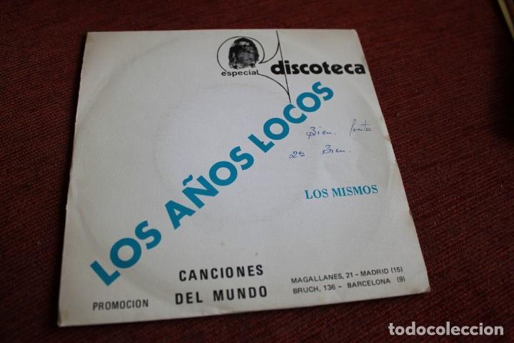 Discos de vinilo: LOTE 33 SINGLES Y EPS LOS MISMOS - Foto 8 - 133455474