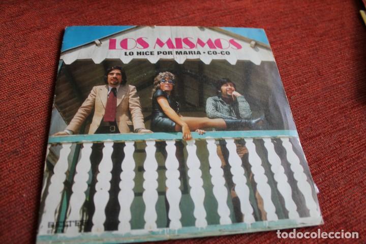 Discos de vinilo: LOTE 33 SINGLES Y EPS LOS MISMOS - Foto 9 - 133455474