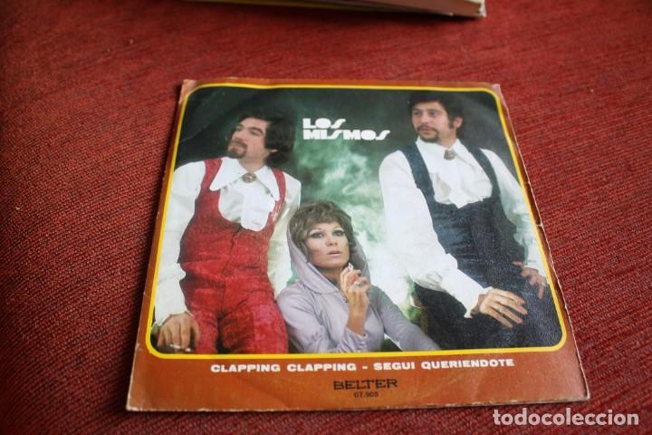 Discos de vinilo: LOTE 33 SINGLES Y EPS LOS MISMOS - Foto 10 - 133455474