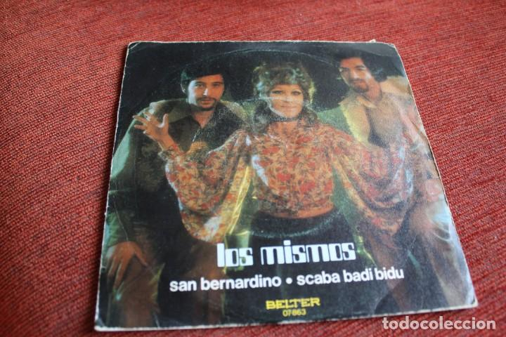 Discos de vinilo: LOTE 33 SINGLES Y EPS LOS MISMOS - Foto 11 - 133455474