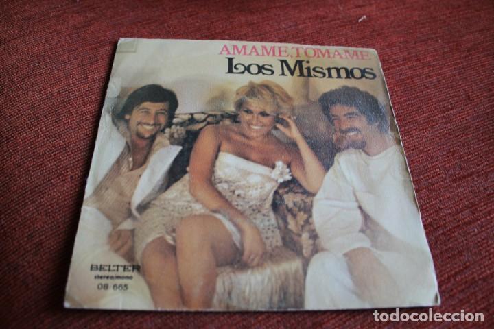 Discos de vinilo: LOTE 33 SINGLES Y EPS LOS MISMOS - Foto 13 - 133455474