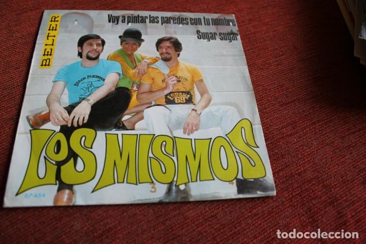 Discos de vinilo: LOTE 33 SINGLES Y EPS LOS MISMOS - Foto 18 - 133455474