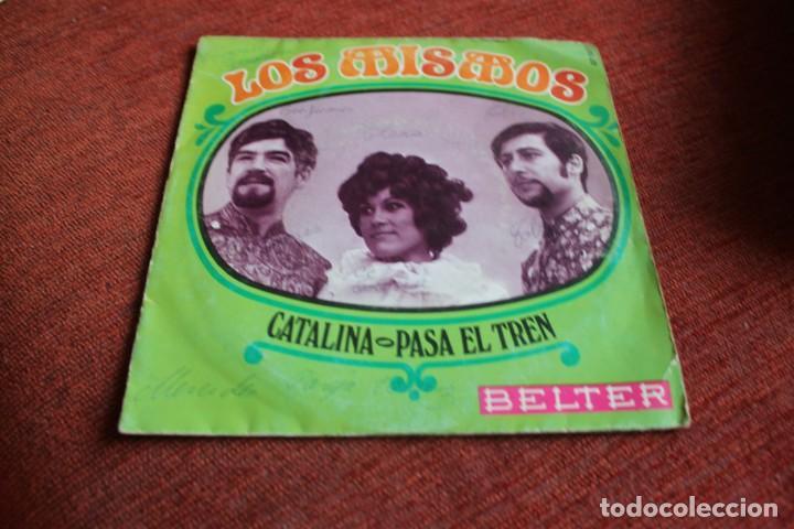 Discos de vinilo: LOTE 33 SINGLES Y EPS LOS MISMOS - Foto 25 - 133455474