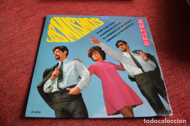 Discos de vinilo: LOTE 33 SINGLES Y EPS LOS MISMOS - Foto 26 - 133455474