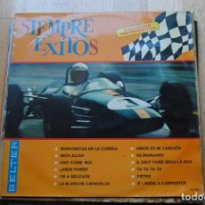 Discos de vinilo: SIEMPRE EXITOS. BELTER LP 1967. CARPETA BIEN CONSERVADA. Lote 133460854