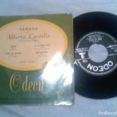 Discos de vinilo: DISCO TANGOS DE ALBERTO CASTILLO. Lote 133461302