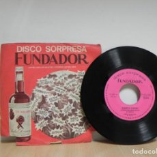 Discos de vinilo: SINGLE. DISCO SORPRESA FUNDADOR . ALBERTO CORTEZ . Lote 133461834