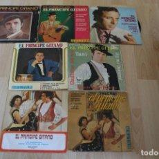 Discos de vinilo: LOTE 7 EP'S Y SINGLES EL PRINCIPE GITANO. Lote 133463474