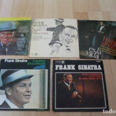 Discos de vinilo: LOTE 5 EP'S Y SINGLES FRANK SINATRA. Lote 133463914