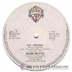 Discos de vinilo: ROSE ROYCE - R.R. EXPRESS / FIGHT IT - MAXI-SINGLE, NETHERLANDS 1981. Lote 133463926