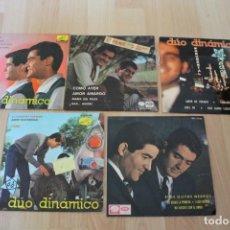 Discos de vinilo: LOTE 5 EP'S DUO DINAMICO. Lote 133464314