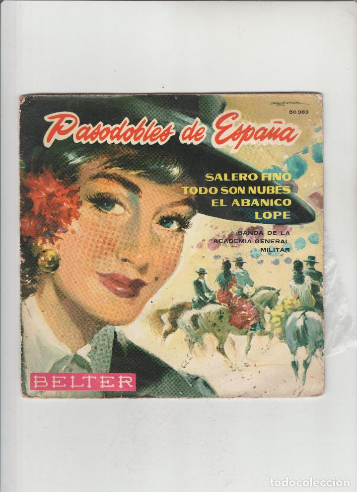 PASODOBLES DE ESPAÑA-SALERO FINO-TODO SON NUBES-EL ABANICO-LOPE (Música - Discos - Singles Vinilo - Otros estilos)