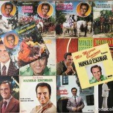 Discos de vinilo: MANOLO ESCOBAR - LOTE 2 (14 SINGLES). Lote 133467214