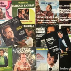 Discos de vinilo: MANOLO ESCOBAR - LOTE 1 (14 SINGLES). Lote 133467270