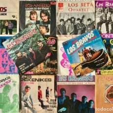 Discos de vinilo: LOTE POP ESPANOL - LOS BRINCOS -LOS BRAVOS - LOS ANGELES... (14 SINGLES DE ED.EXTRANJERA). Lote 133467630