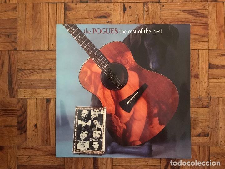 THE POGUES ?– THE REST OF THE BEST SELLO: WEA ?– 9031-77371-1 FORMATO: VINYL, LP, COMPILATION (Música - Discos - LP Vinilo - Rock & Roll)