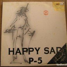 Discos de vinilo: P-5 – HAPPY SAD - LETHAL RECORDS 1996 - MAXI - P - LS -. Lote 133473410