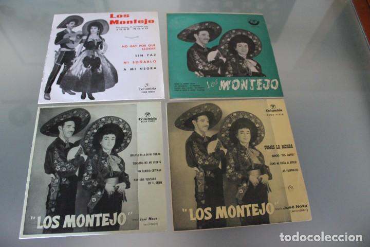 LOTE 4 EP'S LOS MONTEJO (Música - Discos de Vinilo - EPs - Grupos y Solistas de latinoamérica)