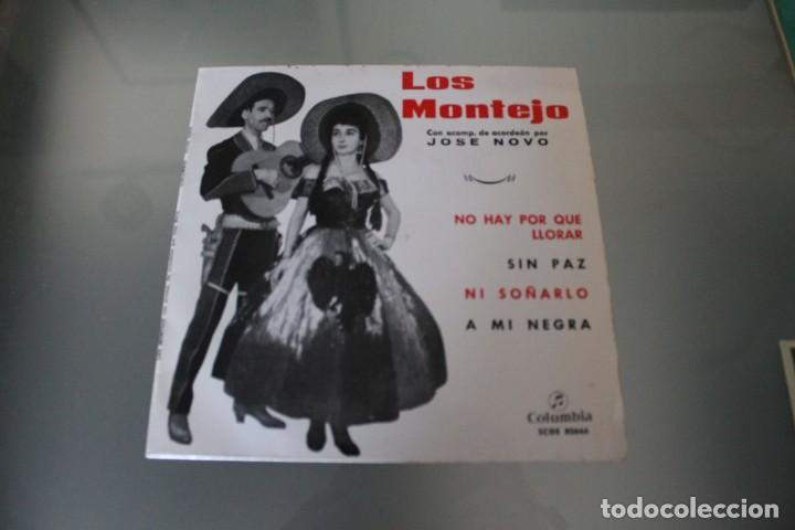 Discos de vinilo: LOTE 4 EPS LOS MONTEJO - Foto 2 - 133474546