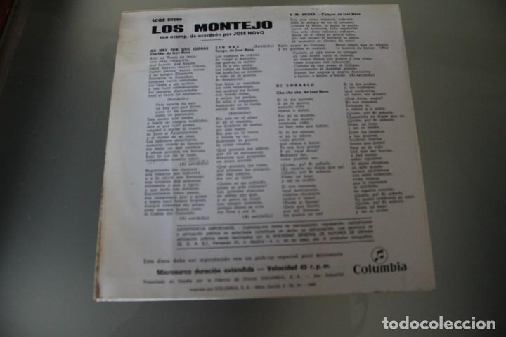 Discos de vinilo: LOTE 4 EPS LOS MONTEJO - Foto 3 - 133474546