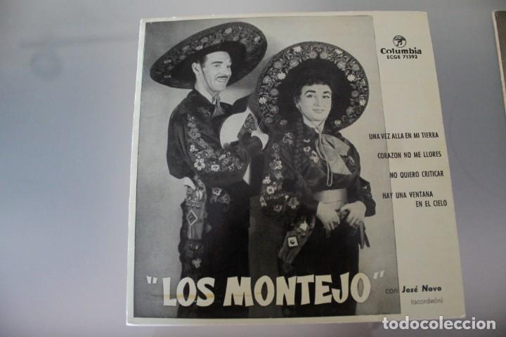Discos de vinilo: LOTE 4 EPS LOS MONTEJO - Foto 6 - 133474546