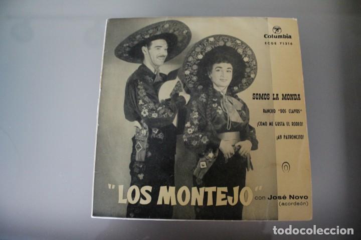 Discos de vinilo: LOTE 4 EPS LOS MONTEJO - Foto 8 - 133474546