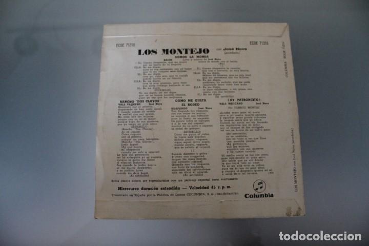Discos de vinilo: LOTE 4 EPS LOS MONTEJO - Foto 9 - 133474546