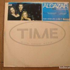 Discos de vinilo: ALCAZAR - SEXUAL GUARANTEE - TIME - SELF DISTRIBUCIONE 2001 - MAXI - P - LS -. Lote 133475554