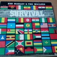 Discos de vinilo: BOB MARLEY SURVIVAL LP SPAIN INSERTO. Lote 133476710