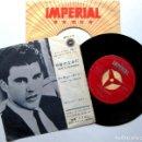 Discos de vinilo: RICKY NELSON - TODAY'S TEARDROPS - SINGLE IMPERIAL 1962 JAPAN (EDICIÓN JAPONESA) BPY. Lote 133480326