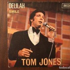 Discos de vinilo: TOM JONES ?– DELILAH SELLO: DECCA ?– ME 389, DECCA ?– ME. 389 FORMATO: VINYL, 7 . Lote 133481318