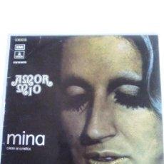 Discos de vinilo: MINA AMOR MIO CANTA EN ESPAÑOL ( 1972 EMI ESPAÑA ) DISCO CON BASTANTE USO. Lote 220626973