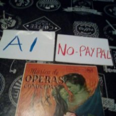 Discos de vinilo: MUSICA DE OPERAS CONOCIDAS RCA. Lote 133486645