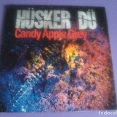 Discos de vinilo: LP ORIGINAL AÑO 1986. HUSKER DU CANDY APPLE GREY .+ ENCARTE. WR. 925 385 1. WX 40. PUNK. Lote 133488410
