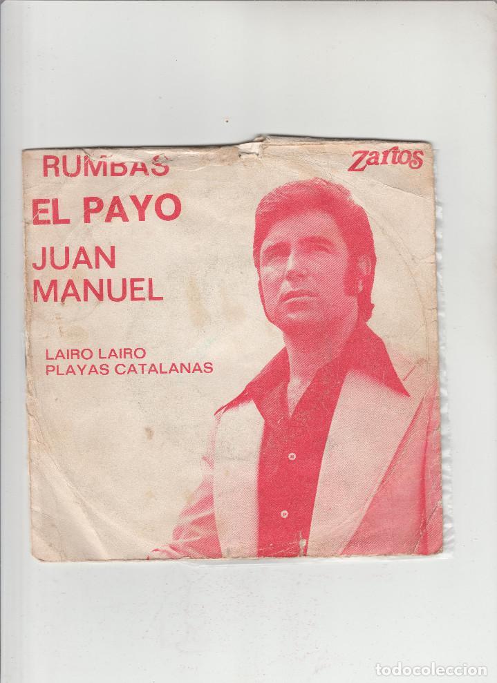 JUAN MANUEL-RUMBAS EL PAYO-LAIRO LAIRO-PLAYAS CATALANAS (Música - Discos - Singles Vinilo - Otros estilos)