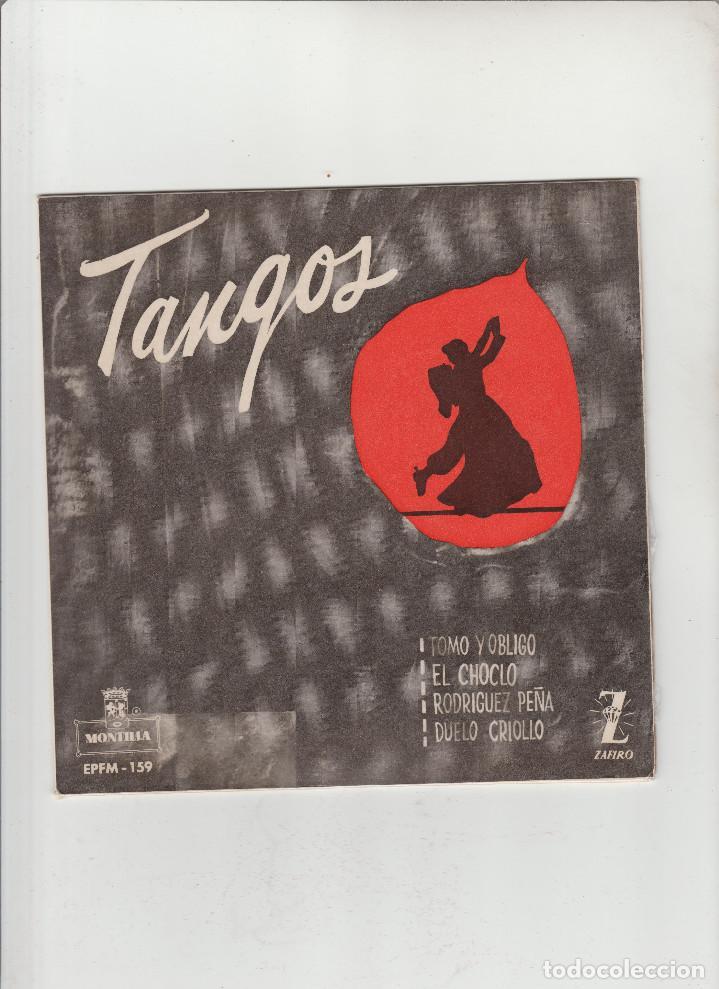 TANGOS- TOMO Y OBLIGO-EL CHOCLO-RODRIGUEZ PEÑA-DUELO CRIOLLO (Música - Discos - Singles Vinilo - Otros estilos)