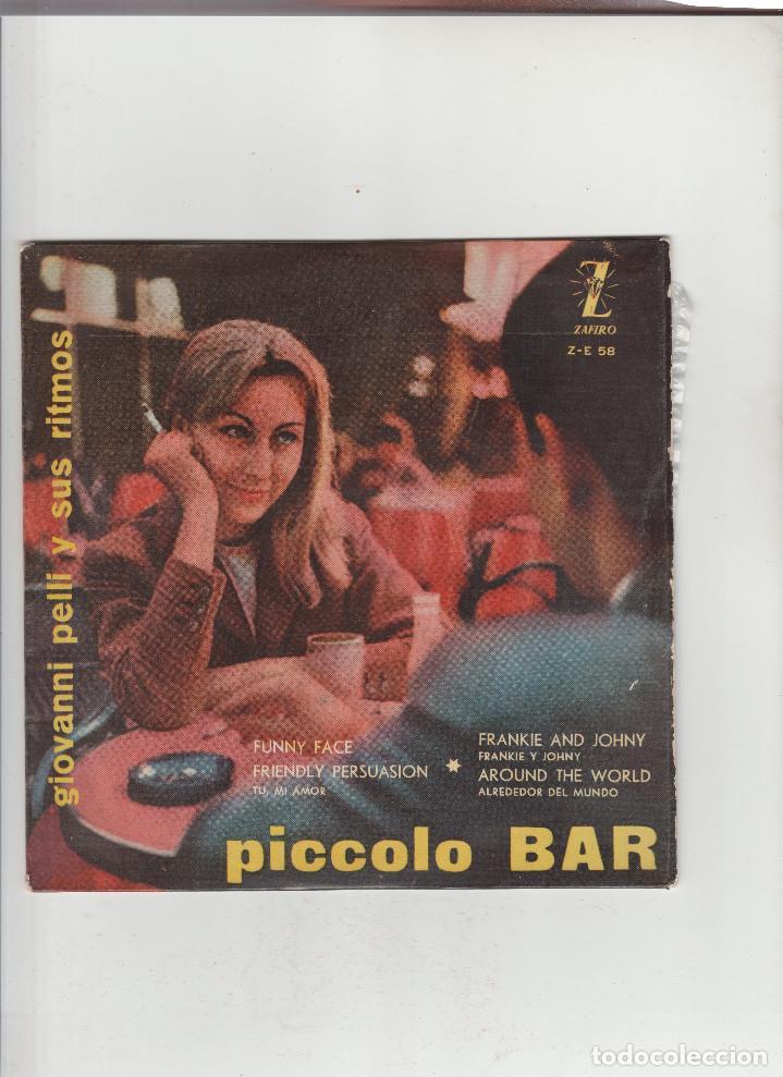 PICCOLO BAR- GIOVANNI PELLI Y SUS RITMOS (Música - Discos - Singles Vinilo - Otros estilos)