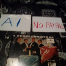 Discos de vinilo: A MERRY CHRISTMAS WITH FOUR ACES COLUMBIA. Lote 133489490