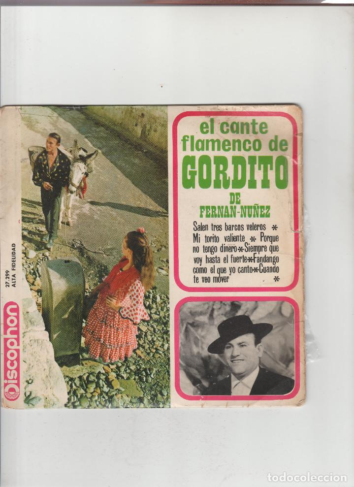 EL CANTE FLAMENCO DE GORDITO DE FERNAN-NUÑEZ (Música - Discos - Singles Vinilo - Otros estilos)