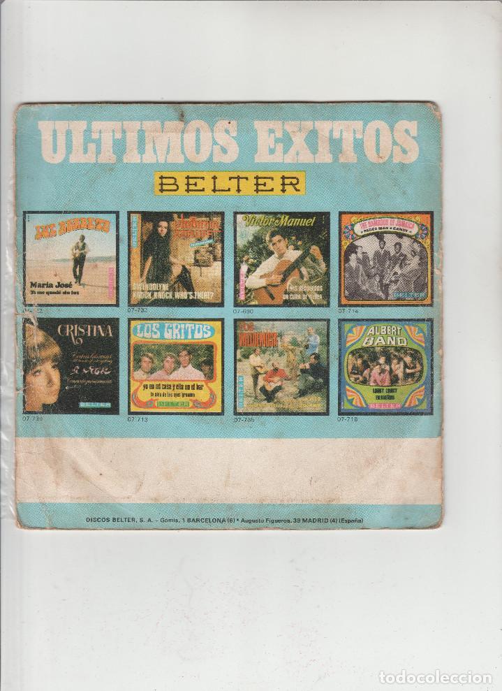 Discos de vinilo: ROSA MORENA-ECHALE GUINDA AL PAVO-MAS VALE TARDE QUE NUNCA - Foto 2 - 133489798