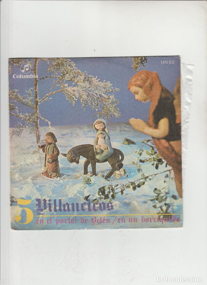 5-VILLANCICOS-EN EL PORTAL DE BELEN (Música - Discos - Singles Vinilo - Otros estilos)
