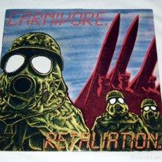 Discos de vinilo: LP CARNIVORE - RETALIATION. Lote 133496626